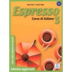 Espresso 3 Edizione aggiornata - Libro dello studente ed esercizi (B1)
