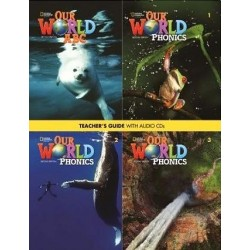 Our World 1-3  (2nd edition) Phonics Teacher's Guide + Audio CDs