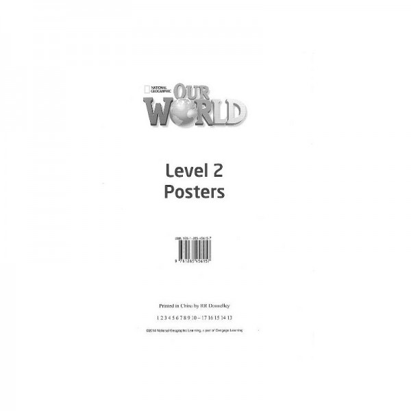 Our World 2 (2nd edition) Poster Set