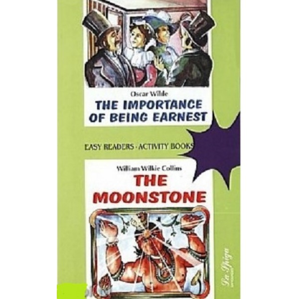 Level 3 - The Importance of Being Earnest / The Moonstone + Audio CD, Oscar Wilde, William Wilkie Collins