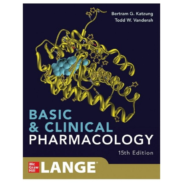Basic and Clinical Pharmacology 15th Edition, Bertram Katzung
