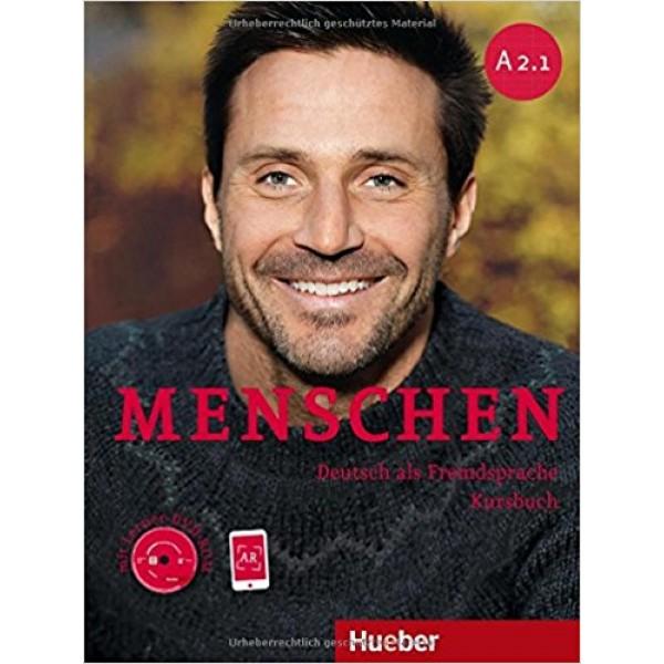 Menschen: A2.1 Kursbuch mit DVD-Rom