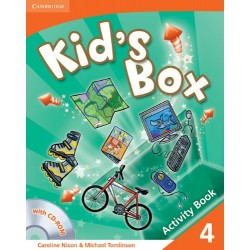 Kid's Box Level 4 Activity Book with CD-ROM