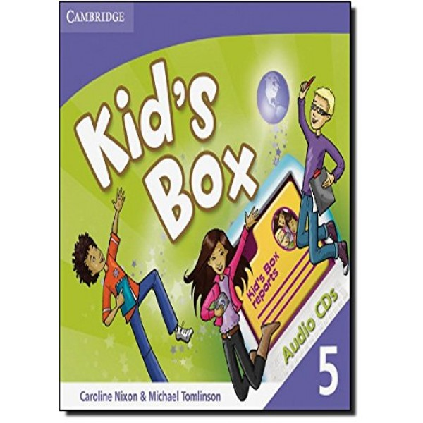 Kid's Box Level 5 Class Audio CDs (3)