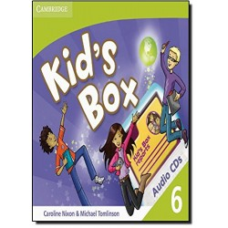 Kid's Box Level 6 Class Audio CDs (3)