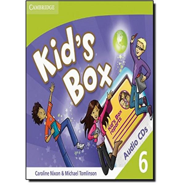 Kid's Box Level 6 Class Audio CDs (3)
