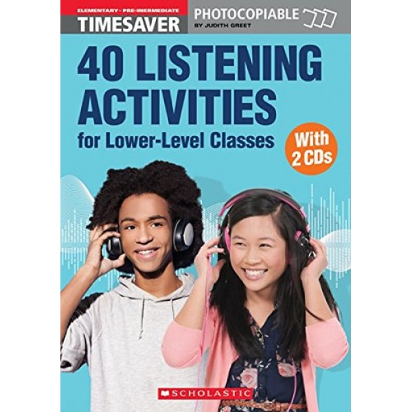 40 Listening Activities for Lower-Level Classes with Audio CDs - Timesaver A1/A2