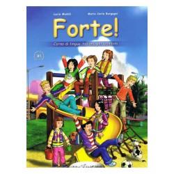 Forte!: Libro dello studente ed esercizi 1 + CD audio + CD-ROM ( A1)