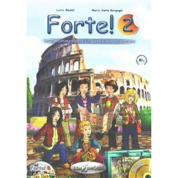 Forte!: Libro Dello Studente ed esercizi 2 + CD audio ( A1+)