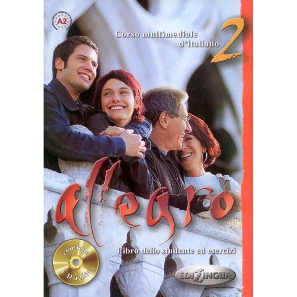 Allegro 2: Libro Dello Studente ed esercizi + CD