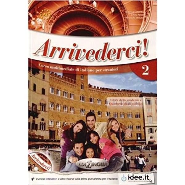 Arrivederci! 2: Libro + CD audio + DVD