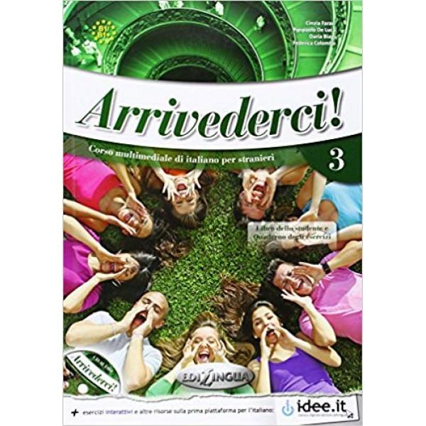Arrivederci! 3: Libro + CD audio + DVD