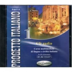 Nuovo Progetto italiano1: CD Audio ( A1-A2)