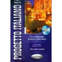Nuovo Progetto Italiano 1: Libro dello Studente + CD ROM ( A1-A2)