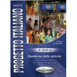 Nuovo Progetto Italiano 1: Quaderno DI Video DVD ( A1-A2)
