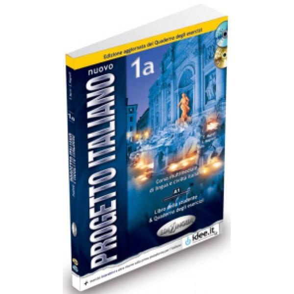 Nuovo Progetto Italiano1a: Libro studente + quaderno degli esercizi + DVD + CD-audio