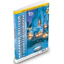 Nuovo Progetto Italiano1b : Libro studente + quaderno degli esercizi + DVD + CD-audio