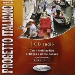 Nuovo Progetto italiano 2: CD Audio (B1-B2)