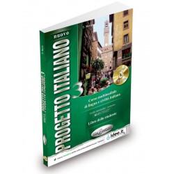 Nuovo Progetto italiano 3 : Libro dello studente + Audio CD (2) ( B2-C1)