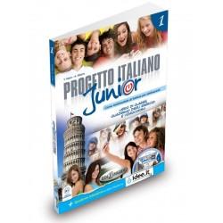 Progetto Italiano Junior: Libro + Quaderno + CD Audio ( A1)