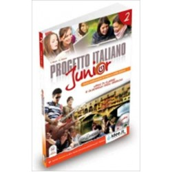 Progetto Italiano Junior: Libro + Quaderno + CD-Audio ( A2)