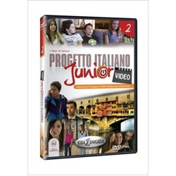 Progetto italiano junior 2: Video DVD( A2)
