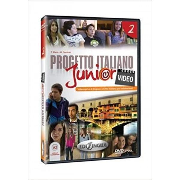 Progetto italiano junior 2: Video DVD( A2)