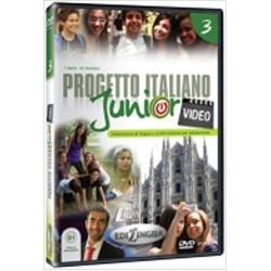Progetto italiano junior 3 : Video DVD ( B1)