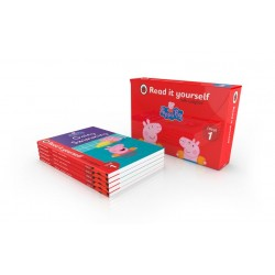 Peppa Pig: Read it yourself with Ladybird Box Set - Level 1