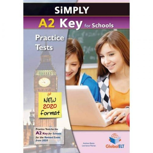 Simply A2 Key for Schools - 8 Practice Tests