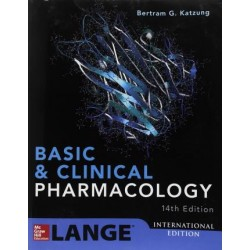 Basic and Clinical Pharmacology 14th Edition,  Bertram Katzung