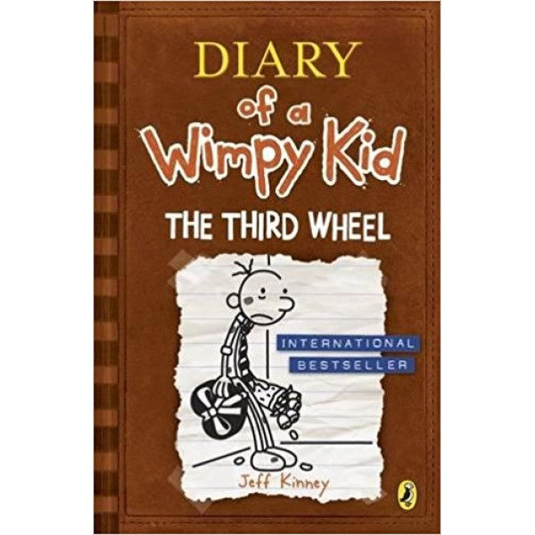 Diary of a Wimpy Kid: The Third Wheel (Book 7), Kinney