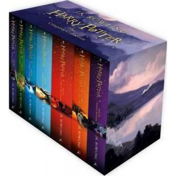 Harry Potter Box Set: The Complete Collection Children's, Rowling