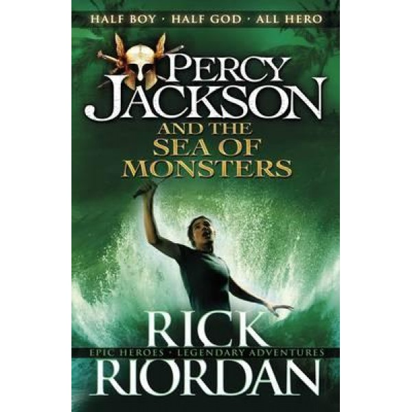 Percy Jackson and the Sea of Monsters (Book 2), Riordan