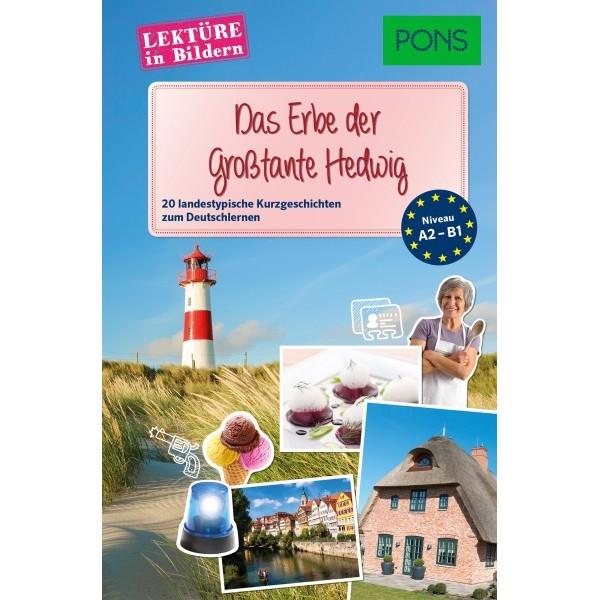 PONS Lektüre in Bildern Deutsch als Fremdsprache - Das Erbe der Großtante Hedwig