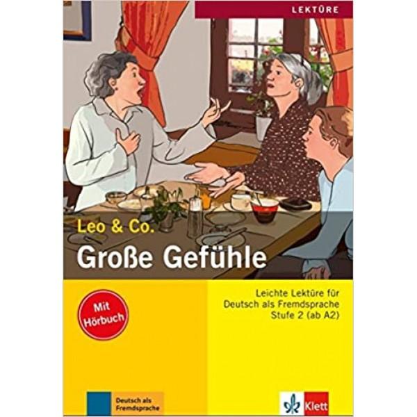 A2 Grosse Gefuhle  mit Audio CD, Elke Burger