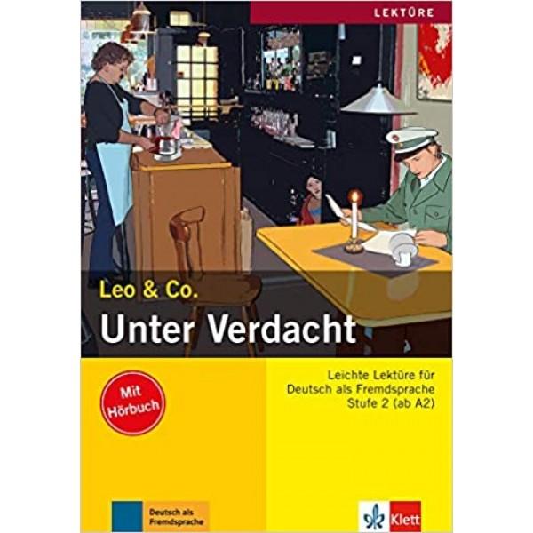 A2 Unter Verdacht mit Audio CD, Elke Burger