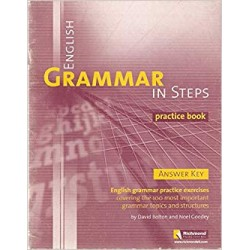 English Grammar in Steps Practice Book, Bolton