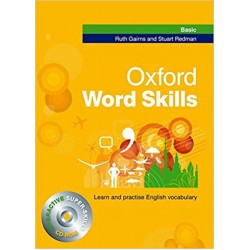Oxford Word Skills Basic: Student's Pack (Book and CD-ROM), Gairns