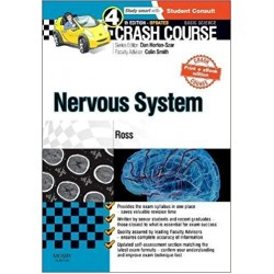 Crash Course Nervous System Updated Print + eBook edition 4th Edition,  Ross