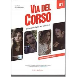 Via del Corso: Libro dello studente ed esercizi A1