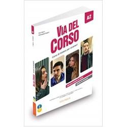 Via del Corso A2 Libro dello studente+ CD audio (2) + DVD. Edizione per insegnanti