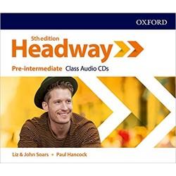 Headway 5th Edition Pre-intermediate Class Audio CDs