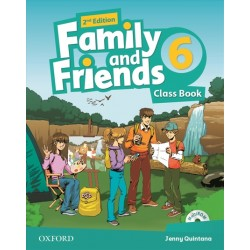 Family and Friends 6 Class Book and Multi-Rom