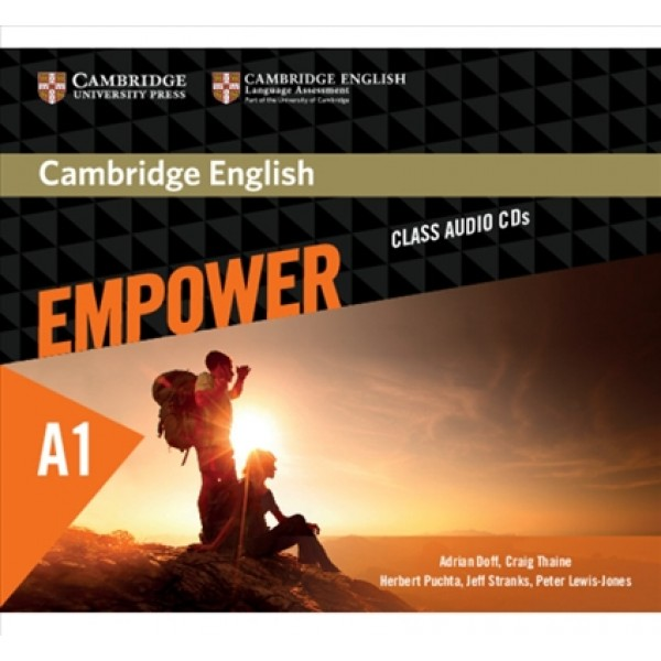 Cambridge English Empower A1 Starter Class Audio CD