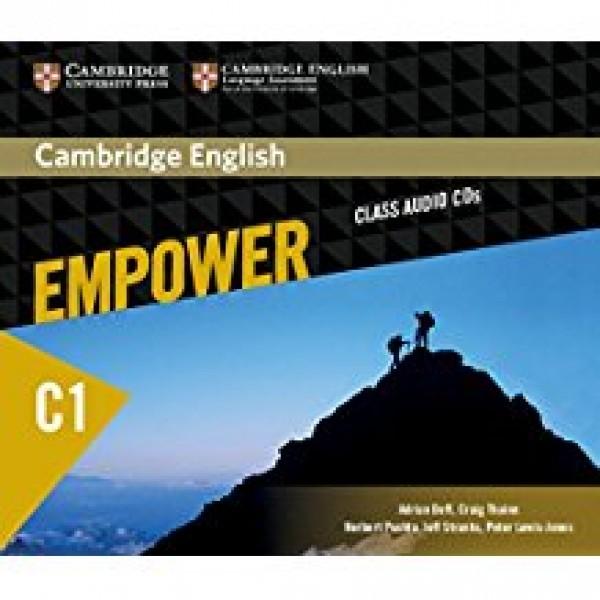 Cambridge English Empower C1 Advanced Class Audio CD