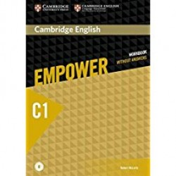 Cambridge English Empower C1 Advanced Workbook without Answers with Online Audio