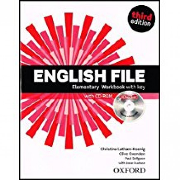 English File Elementary Third Edition Workbook with Key and iChecker Pack