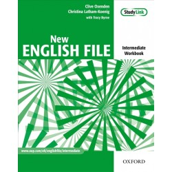 New English File Intermediate Workbook with Answer Key plus MultiRom Pack Second Edition