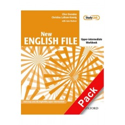 New English File Upper Intermediate Workbook with Answer Key and MulitRom Pack Second Edition Details